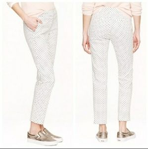 J.Crew Campbell Cropped Triangle Printed Pants